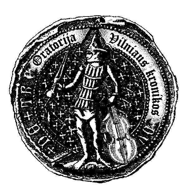 Oratorija Vilniaus kronikos logotopas